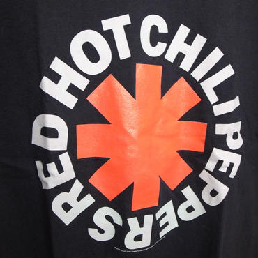 RED HOT CHILI PEPPERS サークルロゴ バンドT used サイズL程度