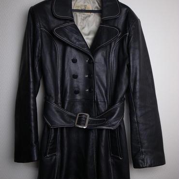 Vintage Deerskin Leather Coat ユーズド レディースUSサイズM