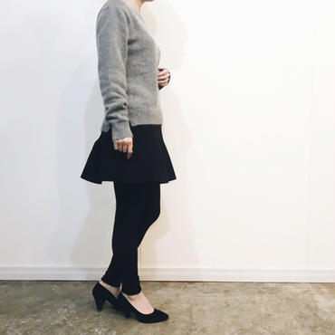 フレアスカート付きレギンス