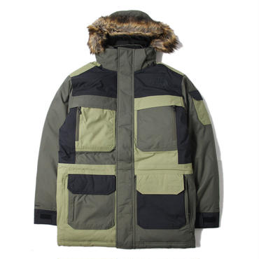 【US正規品】THE NORTH FACE / MCMURDO PARKA III new taupe green combo