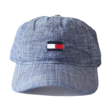 TOMMY HILFIGER / LOGO COTTON CAP chambray  C8878C2333