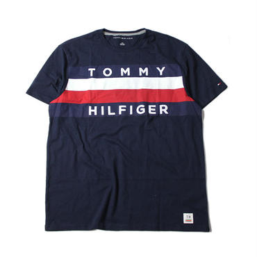 TOMMY HILFIGER FLAG LOGO Tee navy