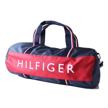 TOMMY HILFIGER / BIG  SIZE BOSTON BAG LARGE navy