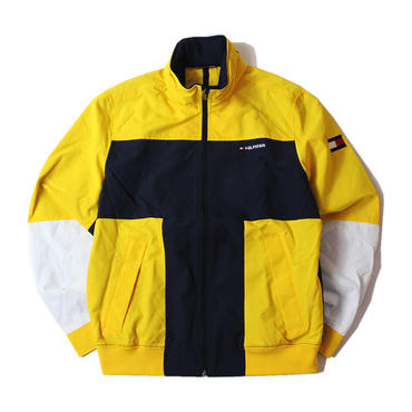 TOMMY HILFIGER / NYLON JACKET yellow navy