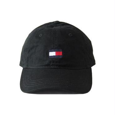 TOMMY HILFIGER /FLAG  LOGO COTTON CAP  black OTCAP1005