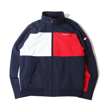 TOMMY HILFIGER / NYLON JACKET navy red white