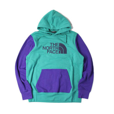 THE NORTH FACE / HALF DOME PULLOVER HOODIE eme green/purple