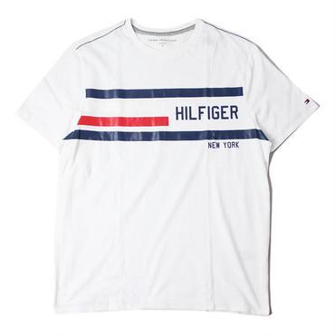 TOMMY HILFIGER NEW YORK LOGO TEE white