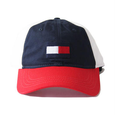TOMMY HILFIGER /FLAG LOGO SNAP BACK navy/white/red c8878c0725
