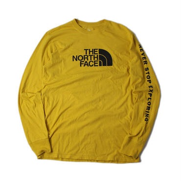 THE NORTH FACE / L/S WELL LOVED HD leopard yellow