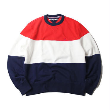 TOMMY HILFIGER CREW NECK  SWEAT C8878C1094 red/white/navy