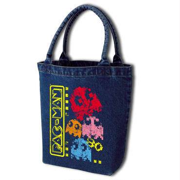 PAC-MAN Graffiti Denim Totebag