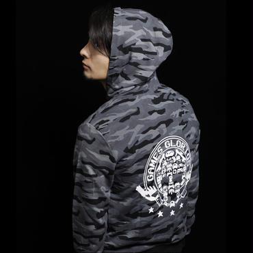 【 Mind Control II 】Camouflage Hooded Sweatshirt