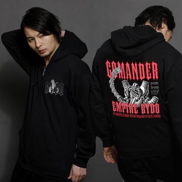 【R-TYPE 】「GOMANDER」Zip-Up Hooded Sweatshirt