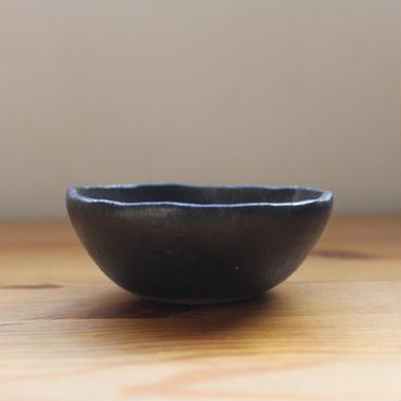 GARAGE MADE限定色 hinomigama 黒釉  丸鉢3