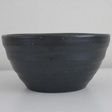 hinomigama × GARAGE MADE 信楽焼 黒釉 そりとり鉢