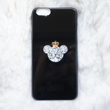 メンズ向け!スマホケースAICA-30 キングベア iPhone5/5s/5c/6/6s/Android