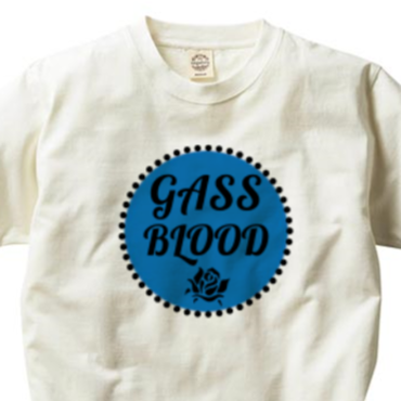 GASS BLOOD-Tee-ORGANIC