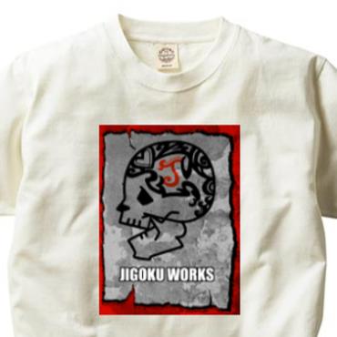 JIGOKU WORKS-Tee-D-ORGANIC