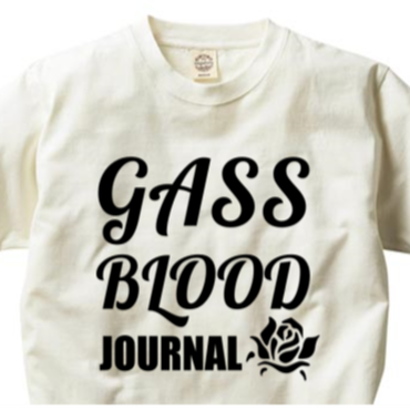 GASS BLOOD JOURNAL-Tee-B-ORGANIC
