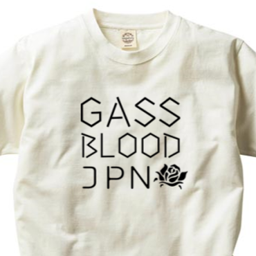 GASS BLOOD JPN Tee-ORGANIC