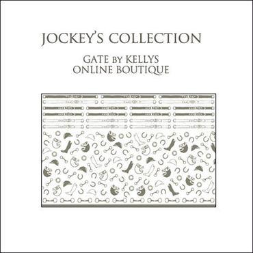 【単品】JOCKEY'S COLLECTION転写紙/グレージュ