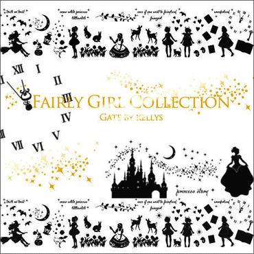 【アウトレット価格★単品】A3サイズ★FairyGirl Collection転写紙★ブラック ¥1290→