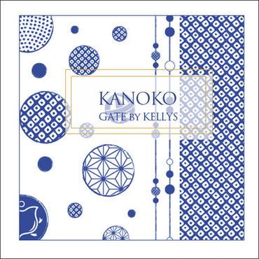 【新入荷限定価格】【単品】A3サイズ★KANOKO転写紙 藍