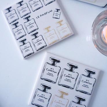 【セット割引5枚セット定価9250】A3サイズ★Le Parfum Collection転写紙/ブラック×シャンパンゴールド9250→