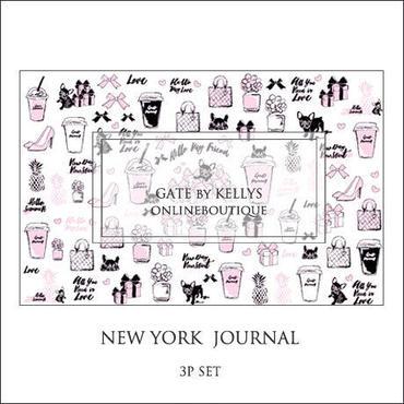 【単品】NY Journal転写紙 ベビーピンク