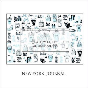 【単品】NY Journal転写紙 ベビーブルー