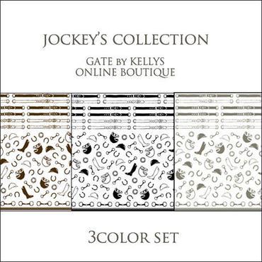【セット割引★各1枚の3枚セット】  JOCKEY'S COLLECTION転写紙/ミックス