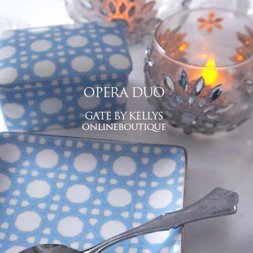 【割引★3枚セット】OPERA DUO 転写紙 フレンチブルー3枚セット  ¥4470→