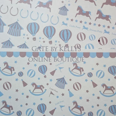【単品】LittlPonyパターン転写紙/ブルードリーム