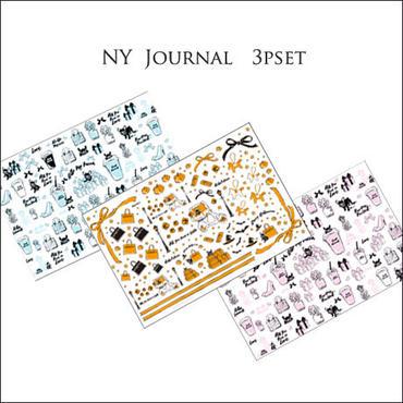 1枚@¥1350【1枚ずつ!セット割引3枚セット】NYJournal シリーズ転写紙セット