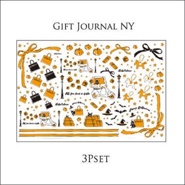 【セット割引3枚セット】Gift Journal NY 転写紙