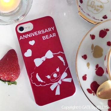 【iPhoneケース】Anniversary Bear女の子