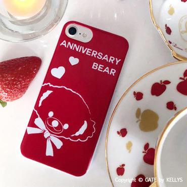 【iPhoneケース】Anniversary Bear男の子