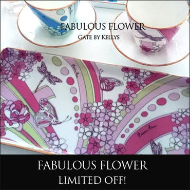 【単品】FabulousFlower★ピンク&ピスタチオ
