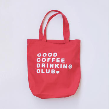 "GCDC basic logo tote bag ""2nd lot""_red"