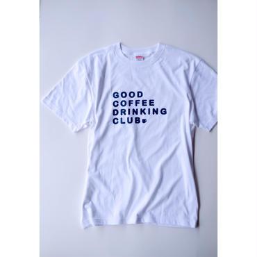 GCDC basic logo t-shirt_white