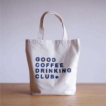 "GCDC basic logo tote bag ""1st lot""_natural"