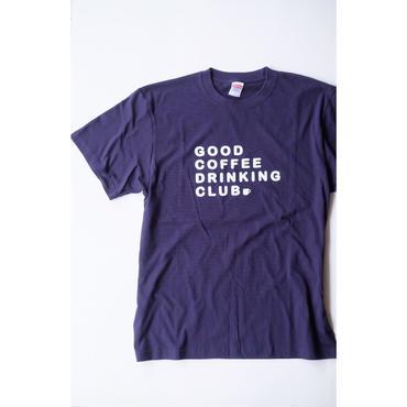 GCDC basic logo t-shirt_navy