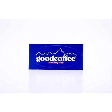G-6 logo sticker_navy
