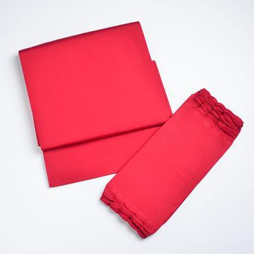 お太鼓作り帯/赤