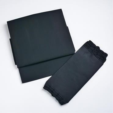 お太鼓作り帯/黒