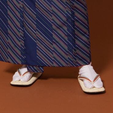 野崎表草履 / 正絹組紐