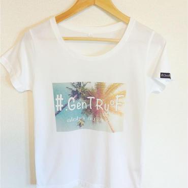 #.GenTRy℉+aloha  au ia  'oe  Tシャツ