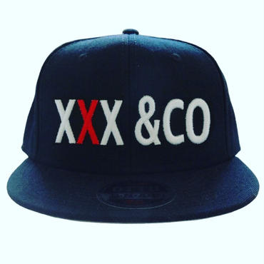 xxx&coキャップ(真ん中Xオーダー)