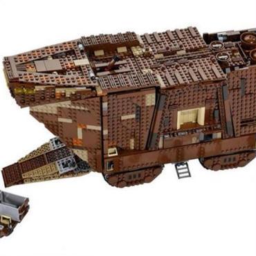 スターウォーズ ・サンドクローラー LEGO互換ブロック Lepin社